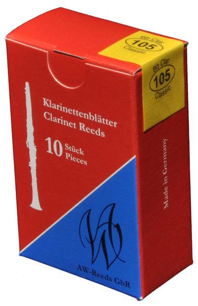 105 German Clarinet 3 AW Reeds