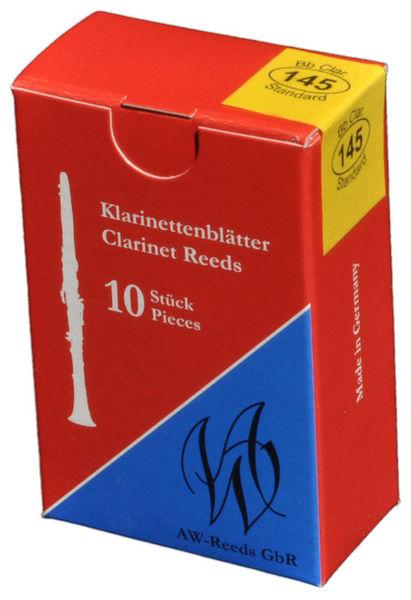 145 German Clarinet 4 AW Reeds