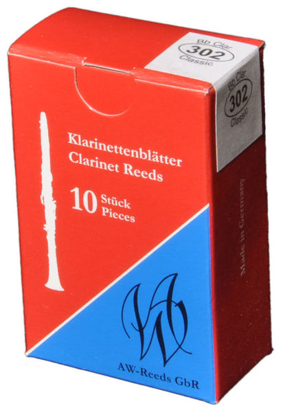 302 Boehm Clarinet 3,5 AW Reeds