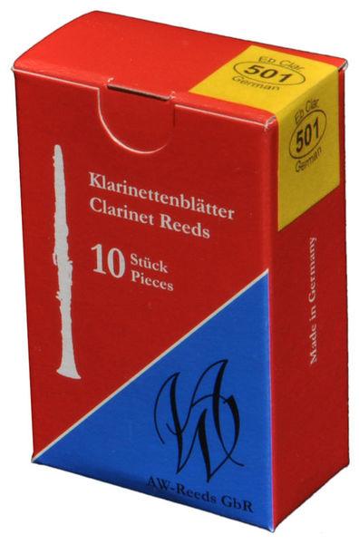 501 German Eb-Clarinet 3 AW Reeds