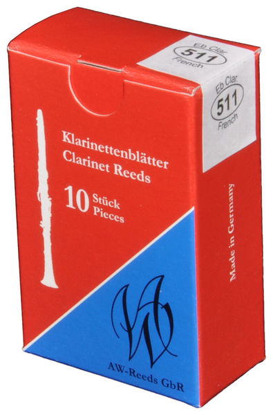 511 Boehm Eb-Clarinet 3 AW Reeds