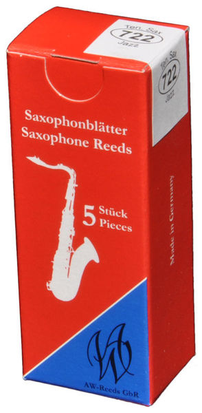 AW Reeds 722 Tenor Sax Jazz 3,5