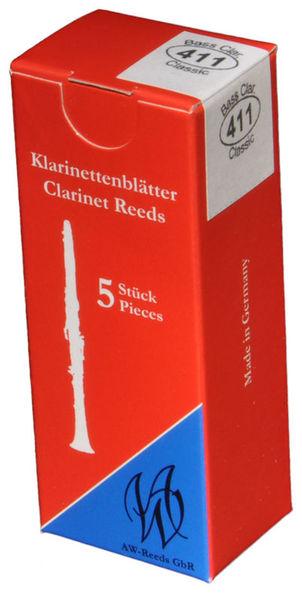 AW Reeds 411 Bass Clarinet Boehm 3,5