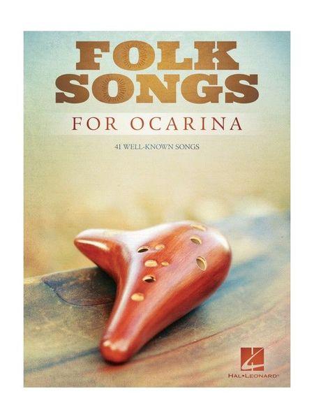 Hal Leonard Folk Songs For Ocarina