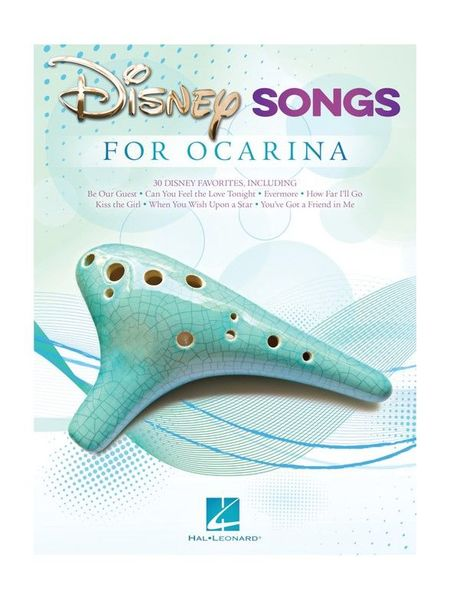 Hal Leonard Disney Songs For Ocarina
