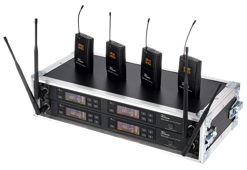 the t.bone free solo PT 590 MHz/4 CH Rack