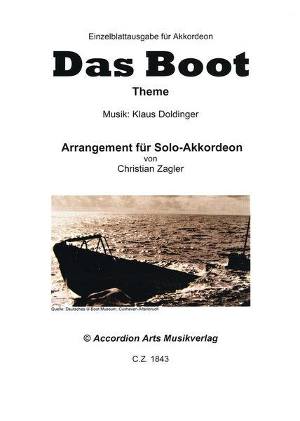 Accordion Arts Musikverlag Das Boot Theme