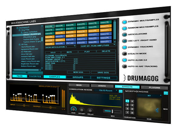 WaveMachine Labs Drumagog 5 Platinum