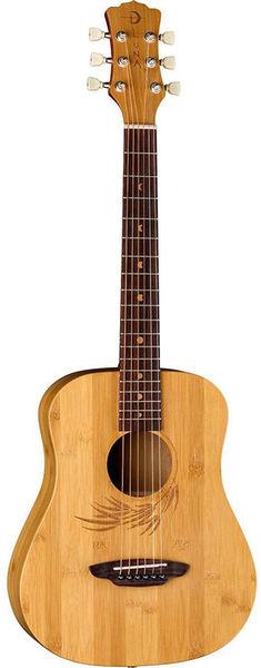 Luna Guitars Safari Bamboo Travel Guitar