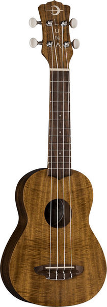 Uke Flamed Acacia Soprano Luna Guitars