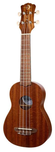 Luna Guitars Uke Flamed Acacia Soprano