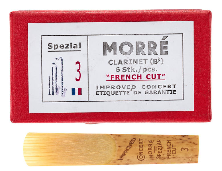 Pilgerstorfer Morré French Cut Bb-Clari. 3,0