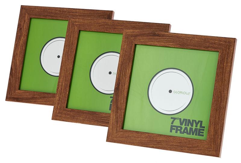 "Glorious 7"" Vinyl Frame Set Rosewood"