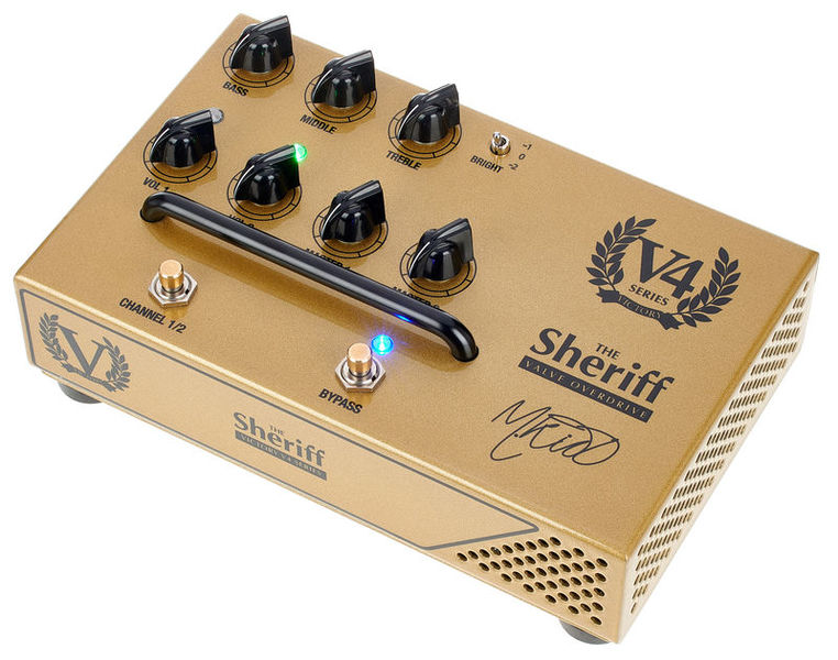 V4 The Sheriff Preamp Victory Amplifiers