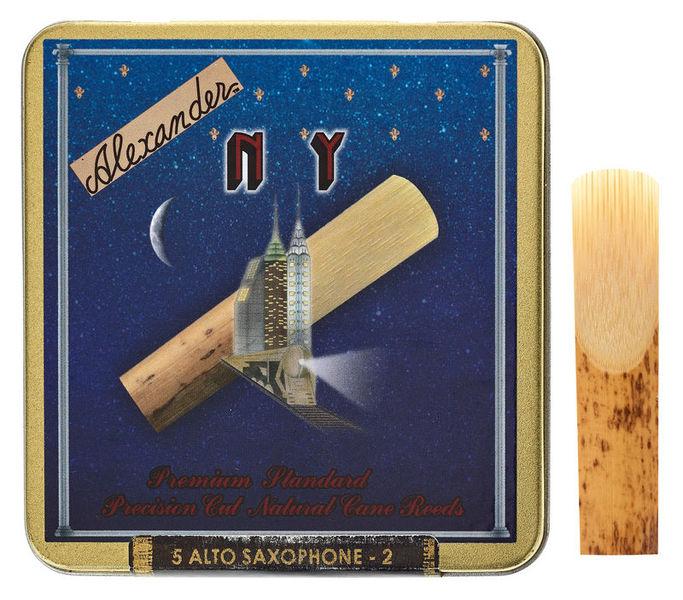 Alexander Reeds NY Alto Saxophone 2,0