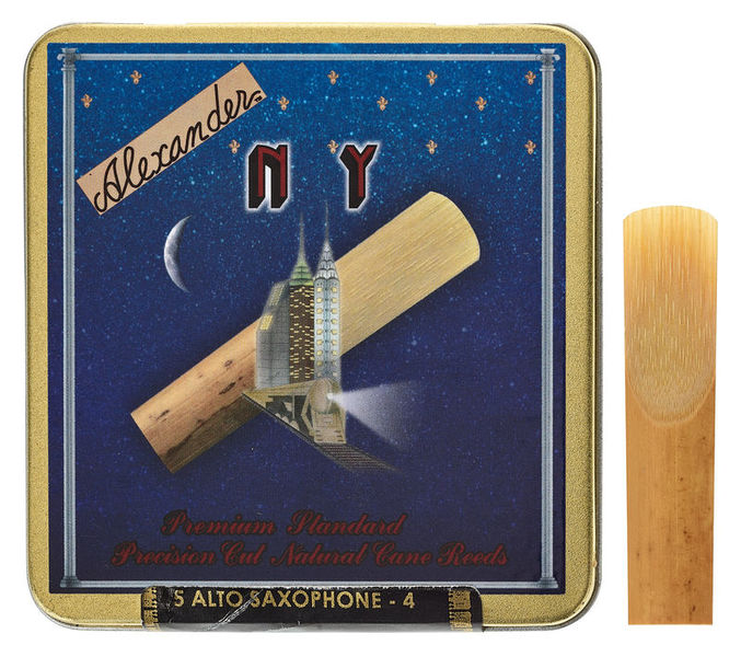 Alexander Reeds NY Alto Saxophone 4,0
