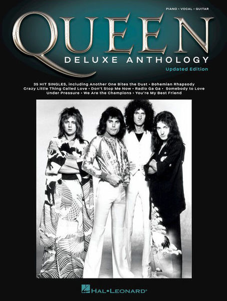 Queen Deluxe Anthology PVG Hal Leonard