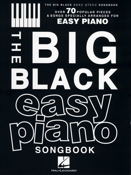 The Big Black Easy Piano Hal Leonard