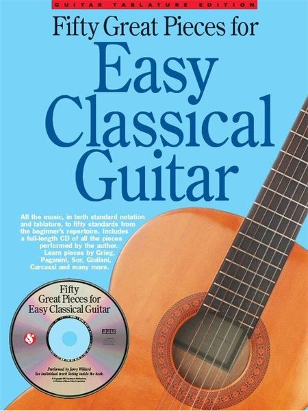 Wise Publications 50 Great Pieces Easy Guitar