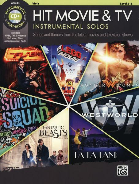 Alfred Music Publishing Hit Movie & TV Solos Viola