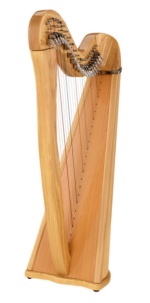 Roth & Junius Celtic Lever Harp Leyla 22 Str