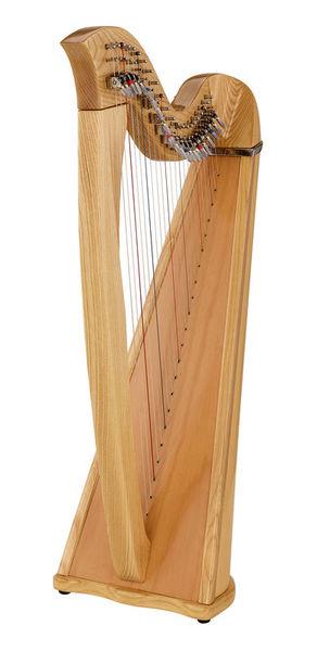Roth & Junius Celtic Lever Harp Kyra 22 Str