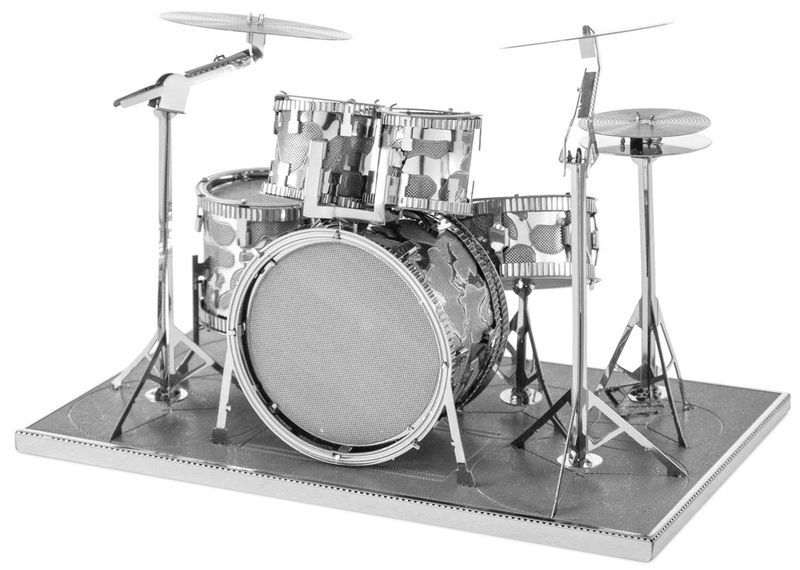 Invento Products Metal Earth Drum Set