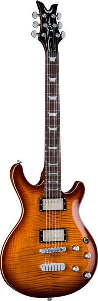 Dean Guitars Icon Flame Top Trans Brazilia