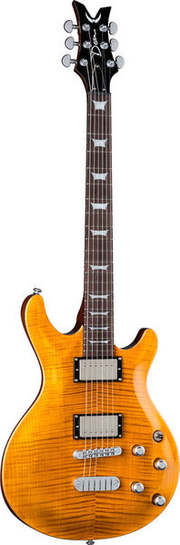 Dean Guitars Icon Flame Top Trans Amber