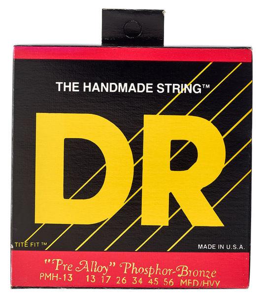 DR Strings Pre-Alloy PMH-13 Acoustic Med.