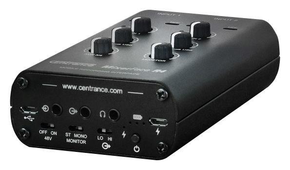 MixerFace R4 Centrance