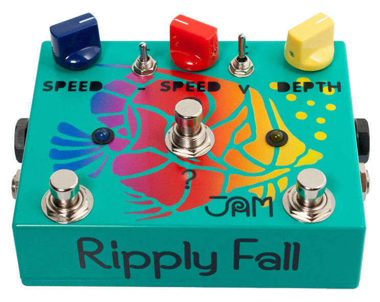 Ripply Fall Chorus/Vibe Jam Pedals