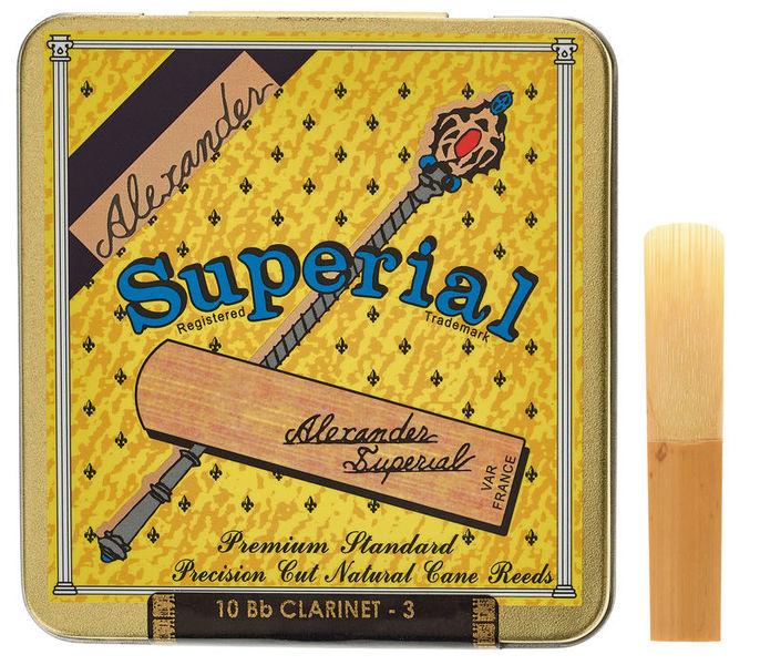 Alexander Reeds Superial Clarinet 3,0