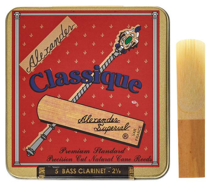 Alexander Reeds Classique Bass Clarinet 2,5