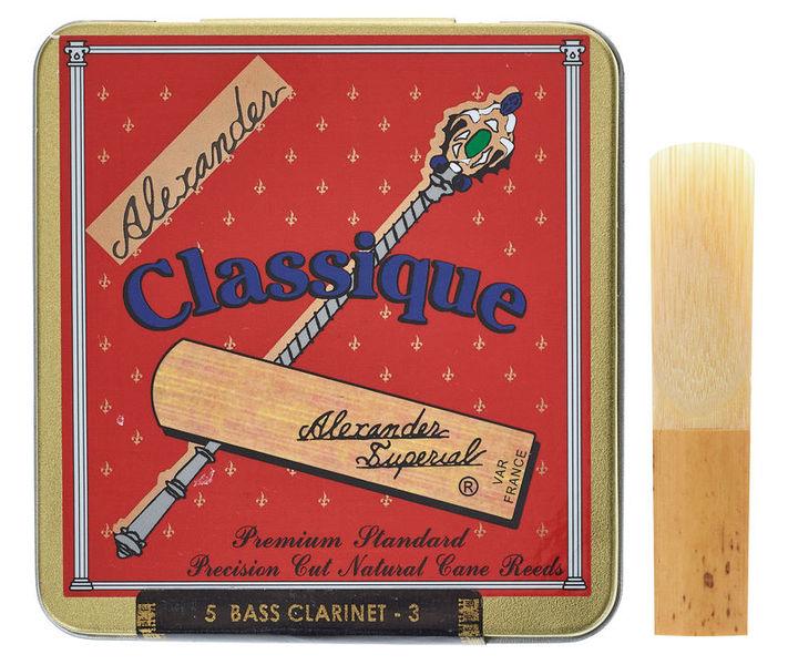 Alexander Reeds Classique Bass Clarinet 3,0