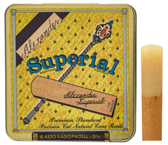 Alexander Reeds Superial Alto Saxophone 3,5