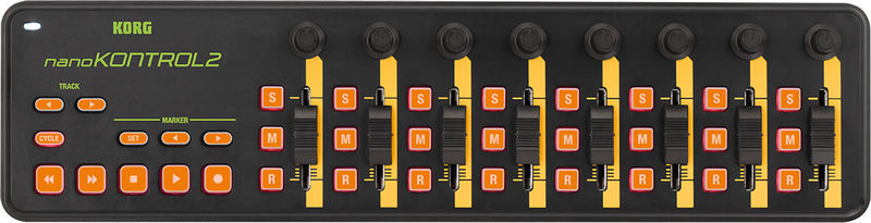 nanoKONTROL 2 Limited Orange Korg