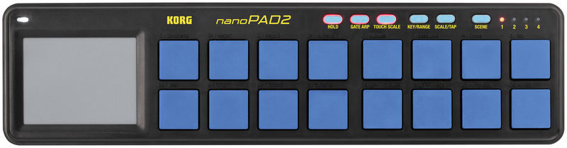 nanoPAD 2 Limited Blue Korg