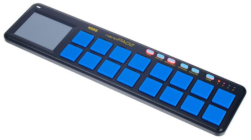 Korg nanoPAD 2 Limited Blue