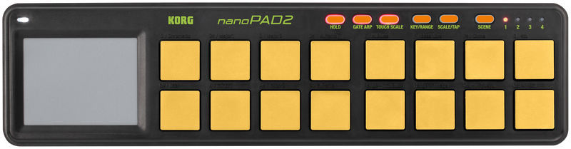 nanoPAD 2 Limited Orange Korg