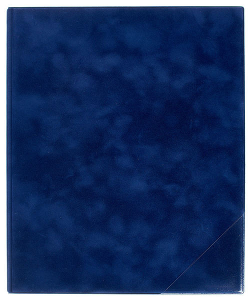 ge-gra-Muster Music Folder Scarlett Navy