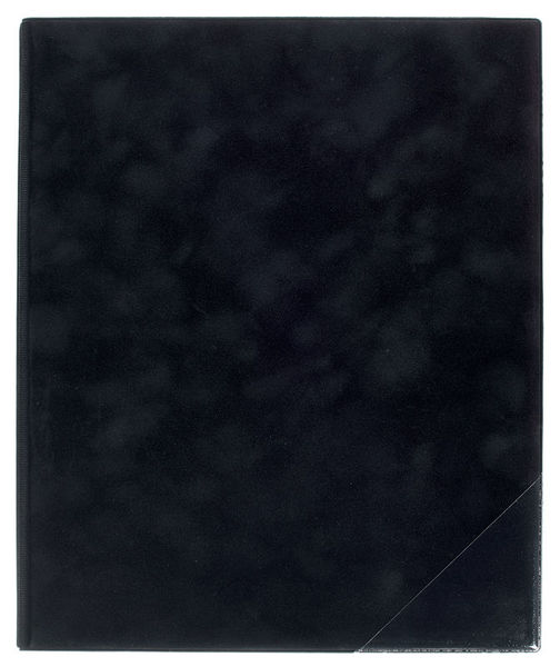 ge-gra-Muster Music Folder Scarlett Black