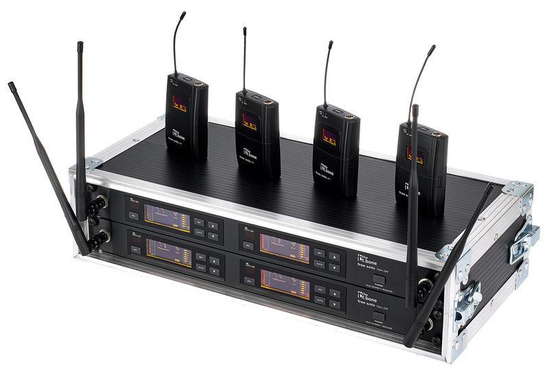 the t.bone free solo PT 660 MHz/4 CH Rack