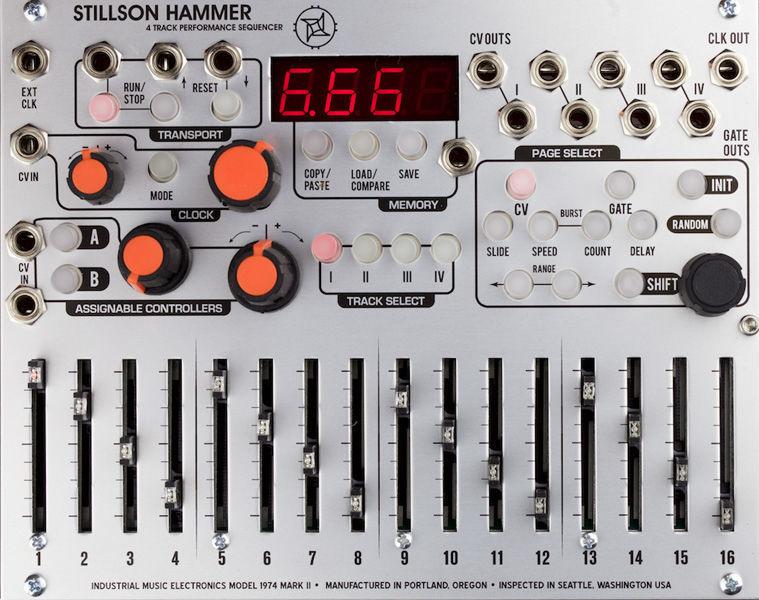 Stillson Hammer MKII Industrial Music Electronics