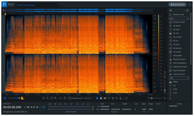 iZotope RX 7 Standard UG 1-6 Std / Adv