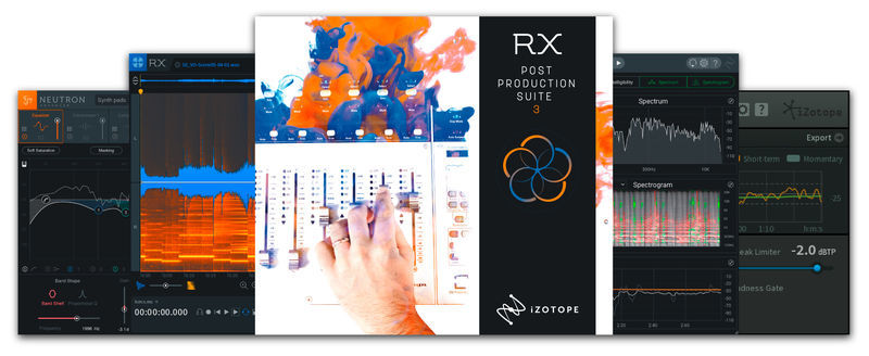 iZotope RX PPS 3 UG RX 1-6 Advanced