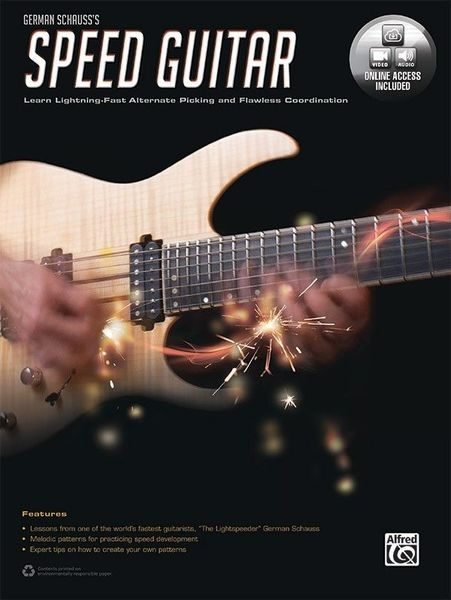 Speed Guitar Alfred Music Publishing