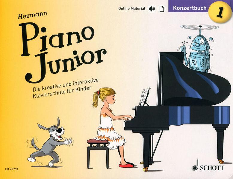 Schott Heumann Piano Junior K Vol.1