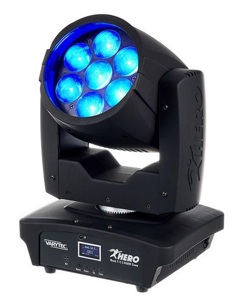 Hero Wash 712 Z RGBW Zoom Varytec