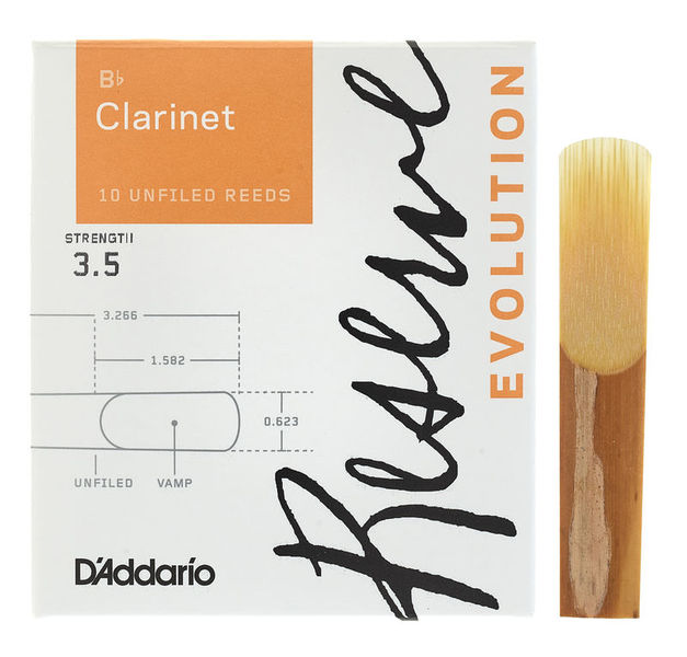 Reserve Evolution Clar 3.5 DAddario Woodwinds